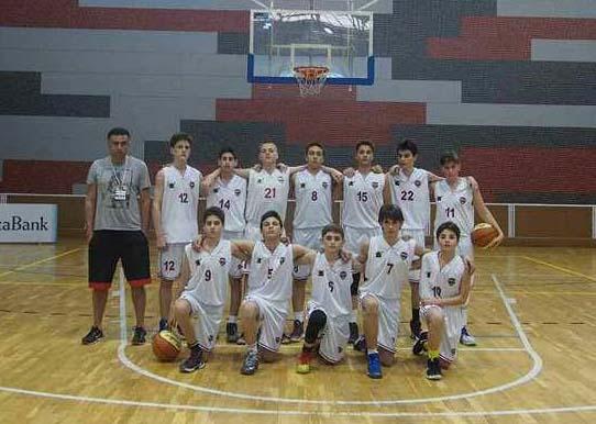 """""""არმიის"""" 14-წლამდელთა გუნდი ბარსელონაში GLOBASKET-ის საერთაშორისო ტურნირზე იმყოფებოდა"""