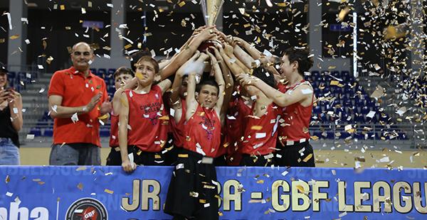 """Junior NBA-GBF ლიგის ჩემპიონი ზაზას აკადემიის გუნდი """"ჩიკაგო ბულსი"""" გახდა"""
