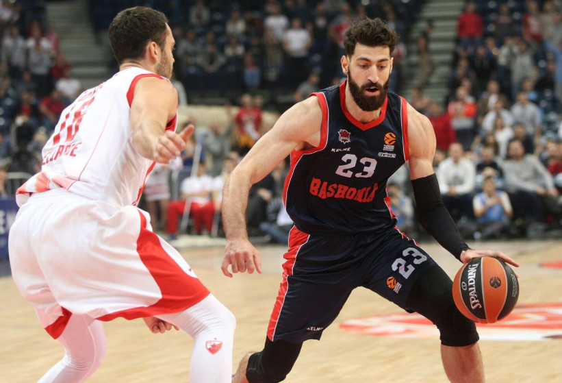Shengelia scored 20 points for Baskonia in the match against Andorra