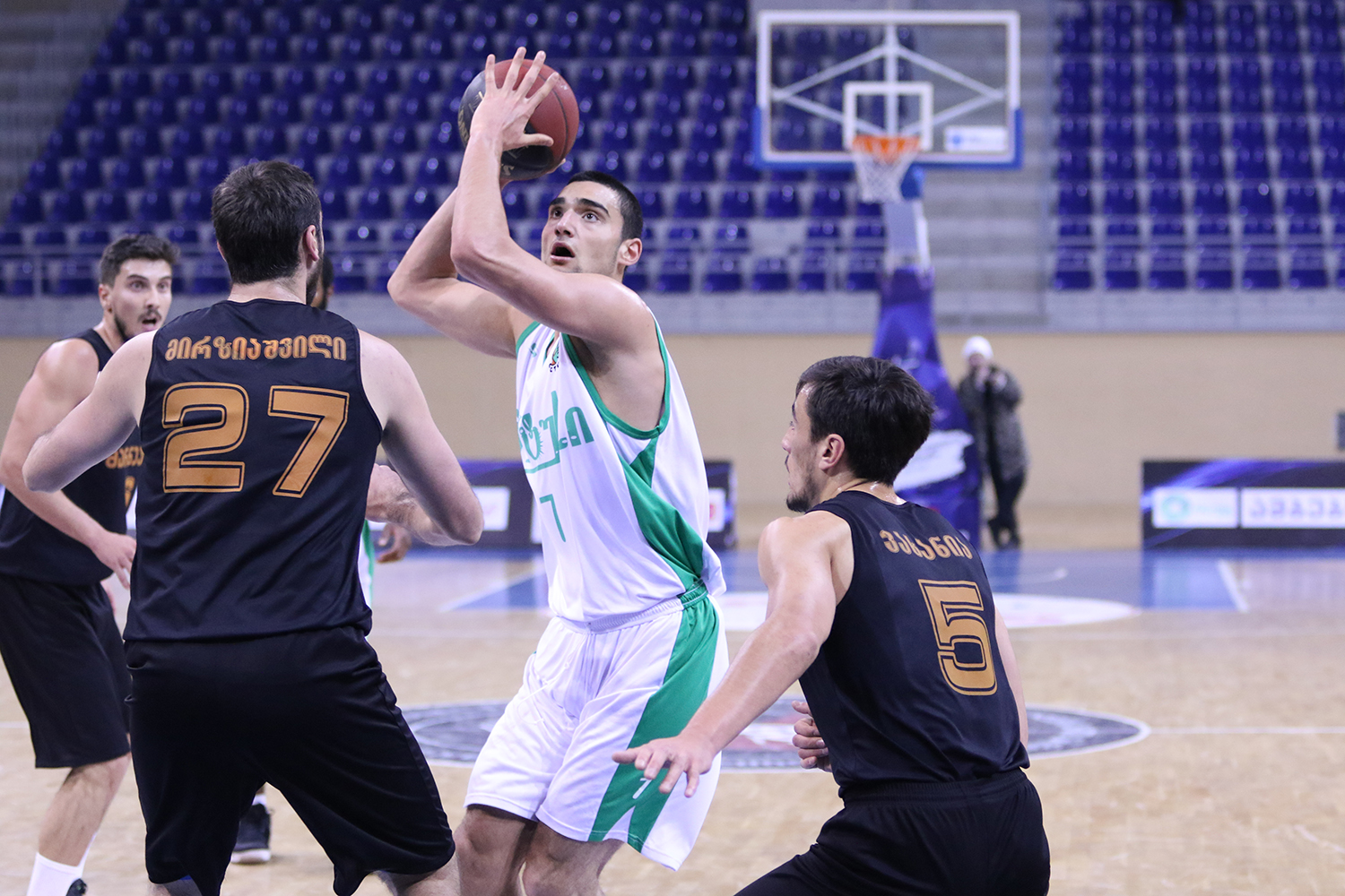 Marneuli lost against Cactus with 15-points difference