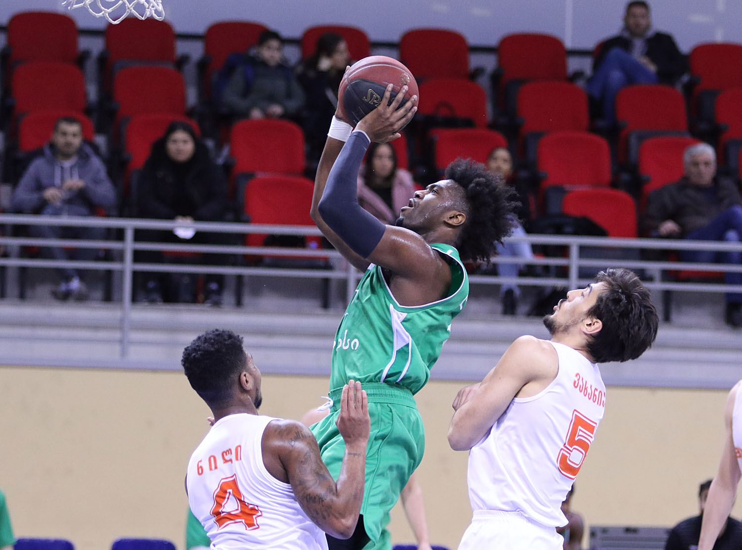 Kutaisi started the quarter-final series with a 15-points victory over Marneuli
