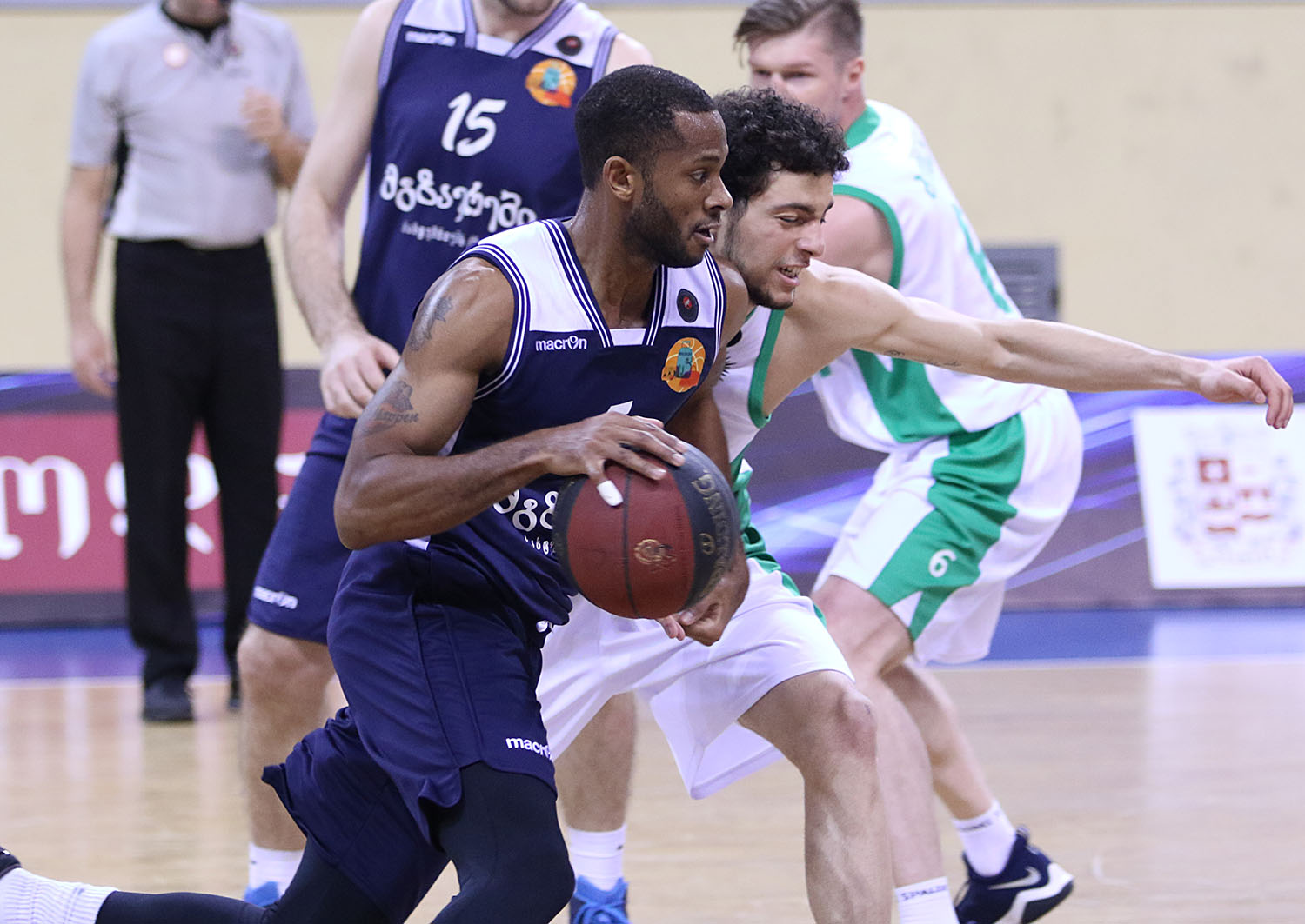 Mgzavrebi defeated Cactus in the first match of the quarter-final series