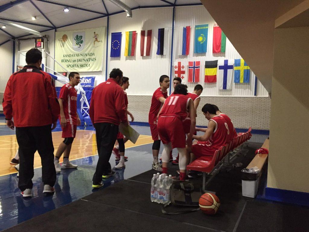 საქართველოს 15-წლამდელთა ნაკრები ევროპის ლიგის მეორე ეტაპში ჩაება