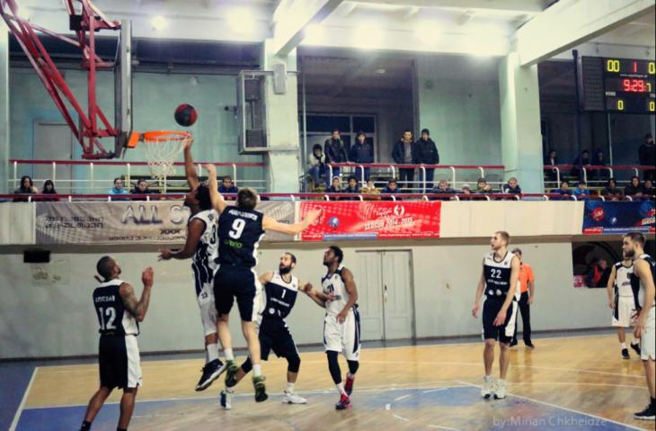 Rustavi won against Sokhumi at the last minute