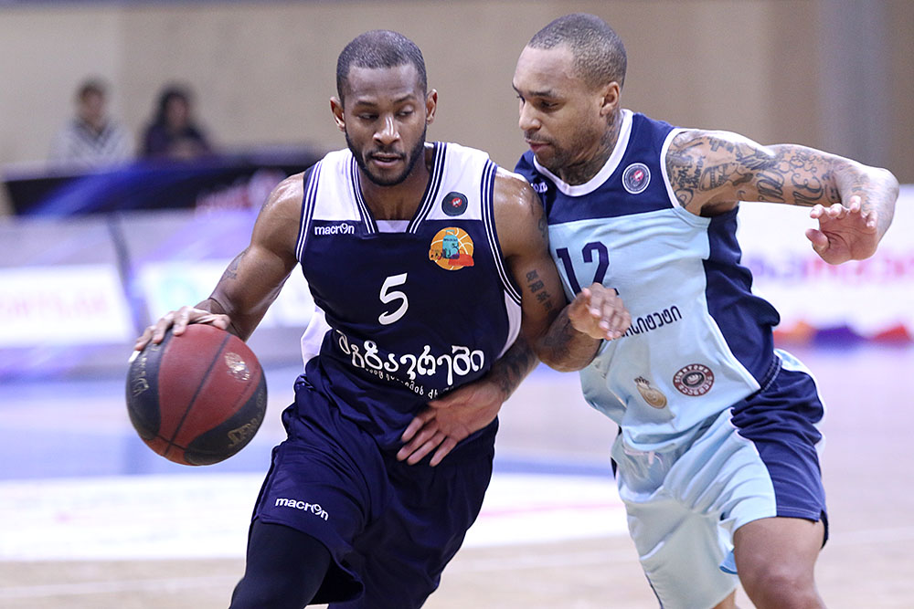 Mgzavrebi defeated Sokhumi - 76:75