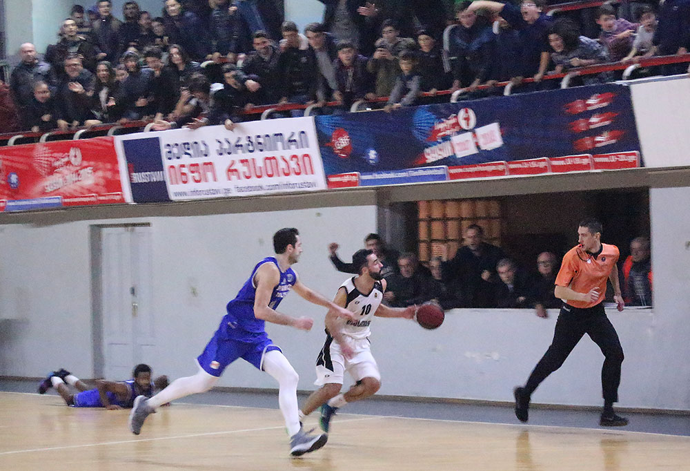 Rustavi won against Dinamo