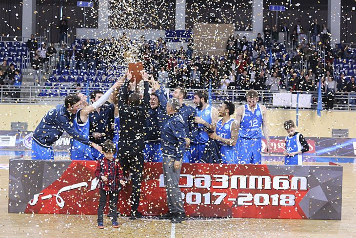 TSU-Hyundai won the final series of A League and gained the Super League ticket