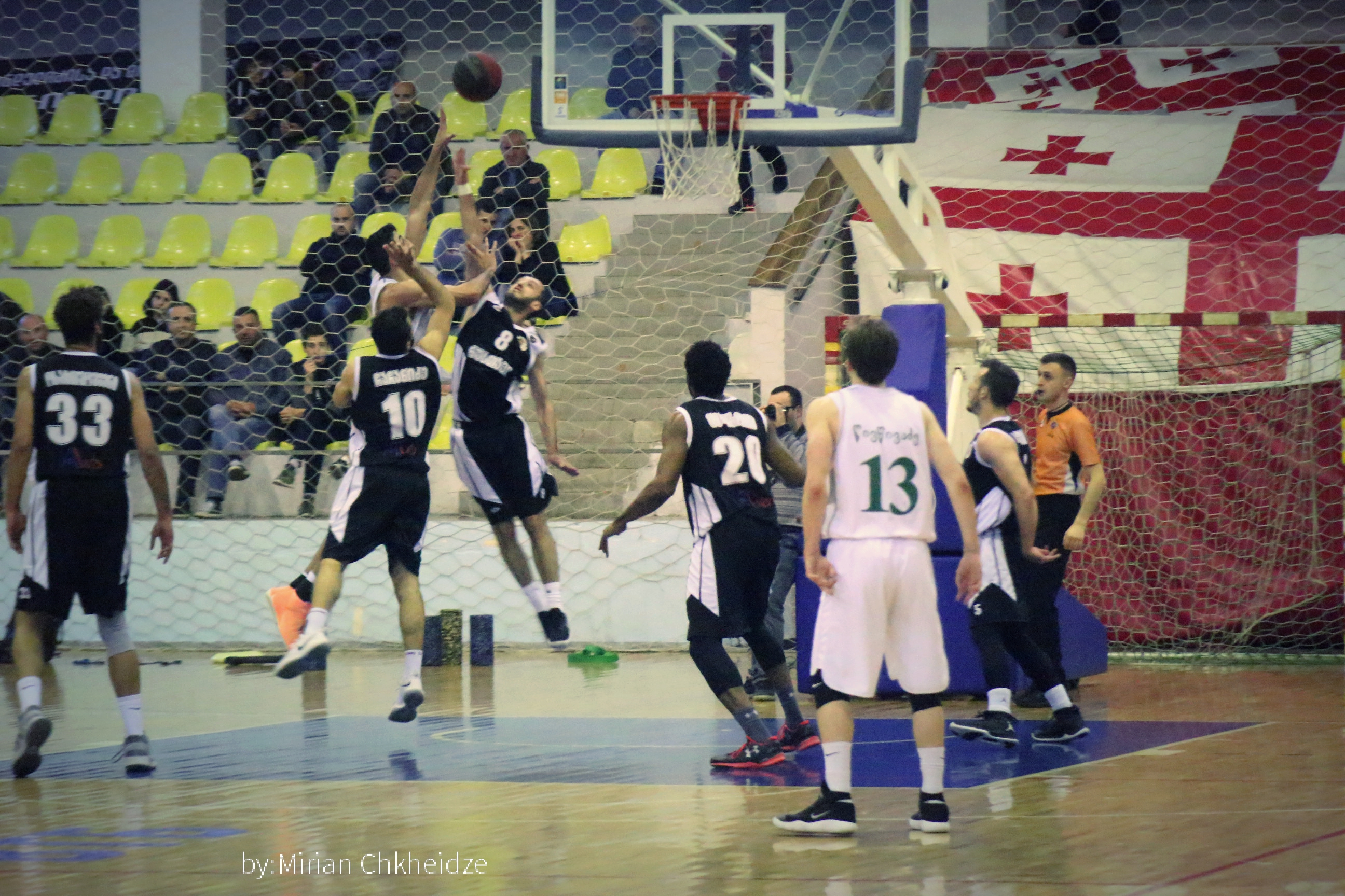 Kutaisi defeated Rustavi 90:70 and equalized the score in the series