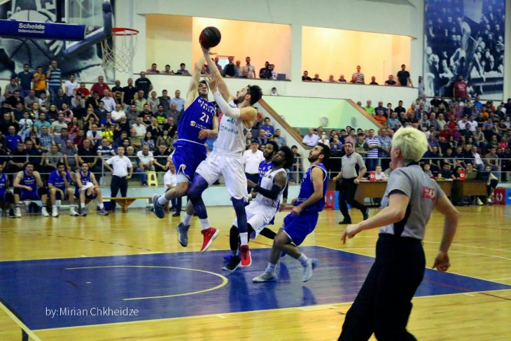 Kutaisi defeated Dinamo and advanced in the final series