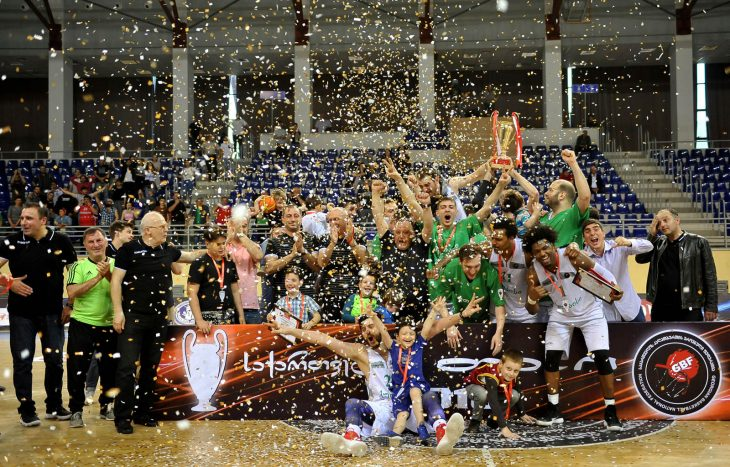 Kutaisi retained the Georgian Cup in a tense battle