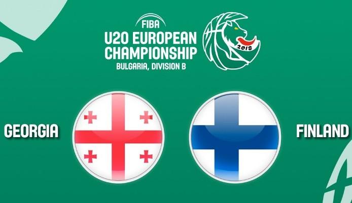 LIVE: საქართველო U20 – ფინეთი U20
