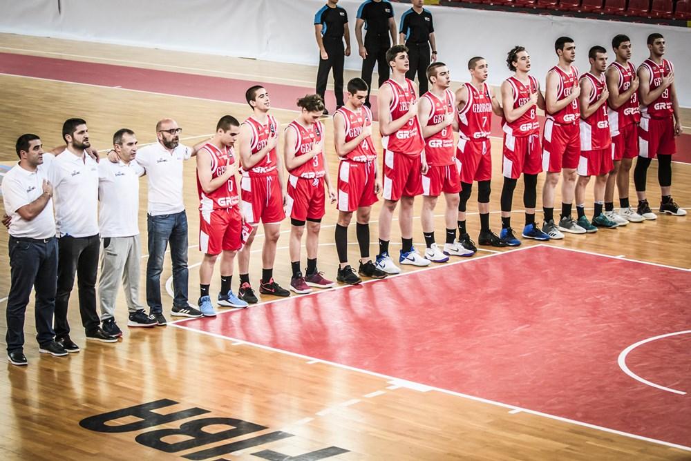 საქართველოს U18 ნაკრებმა ევროპის B დივიზიონი 21-ე ადგილზე დაასრულა