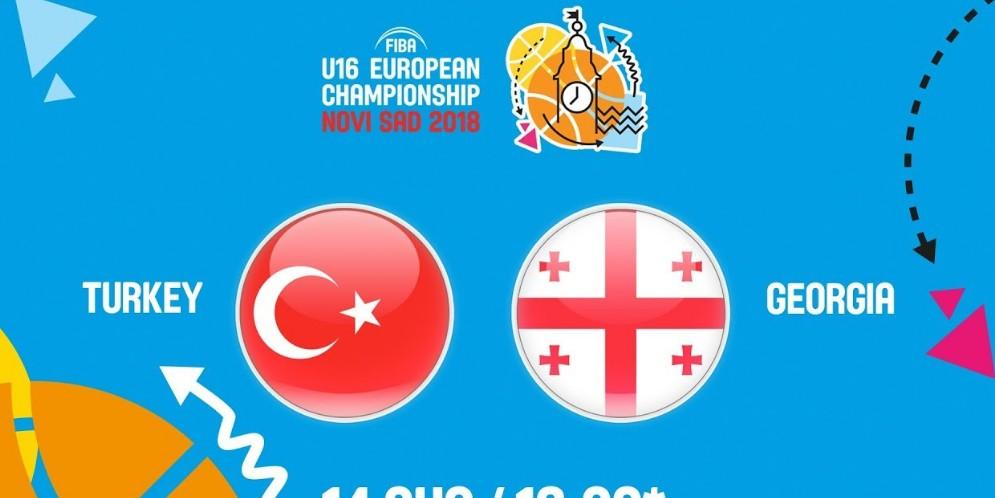 LIVE: თურქეთი – საქართველო. 1/8 ფინალი. ევროპის ჩემპიონატი. A დივიზიონი