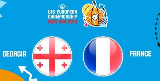 LIVE: საქართველო – საფრანგეთი 20:15 საათი. ევროპის ჩემპიონატი. A დივიზიონი