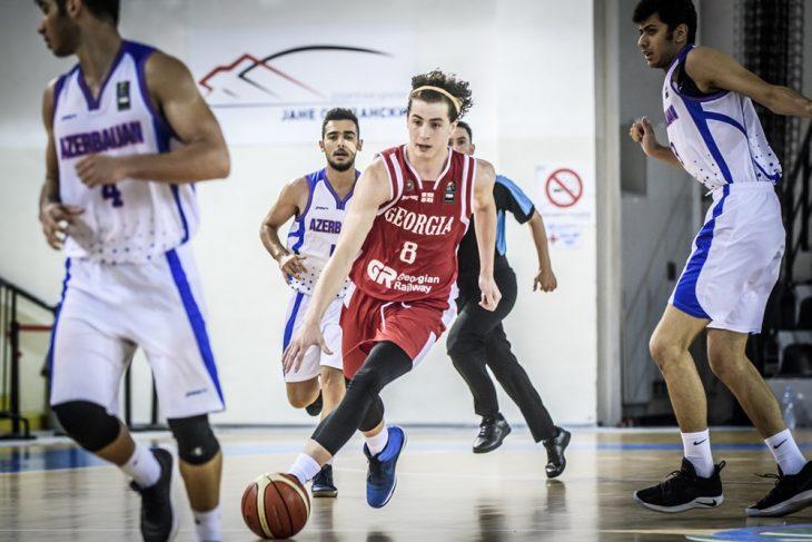 საქართველოს 18-წლამდელთა ნაკრებმა აზერბაიჯანი 75:50 დაამარცხა