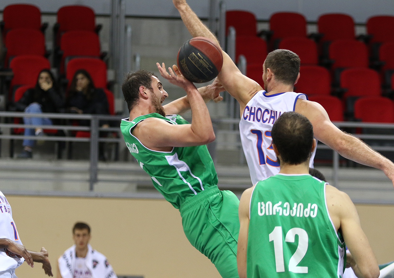 Kutaisi defeated Dinamo and gained the Super League leadership