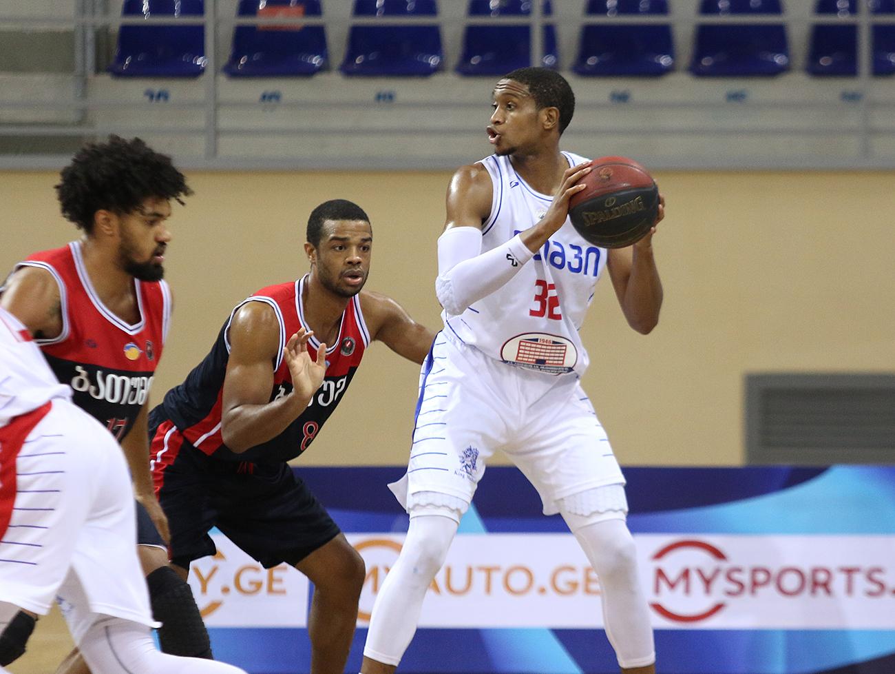 Olimpi defeated Batumi in the last period
