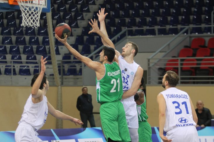 Kutaisi defeated TSU-Hyundai at the last seconds