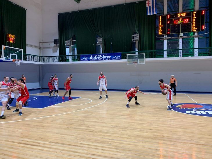 Batumi defeated Rustavi by 22 points