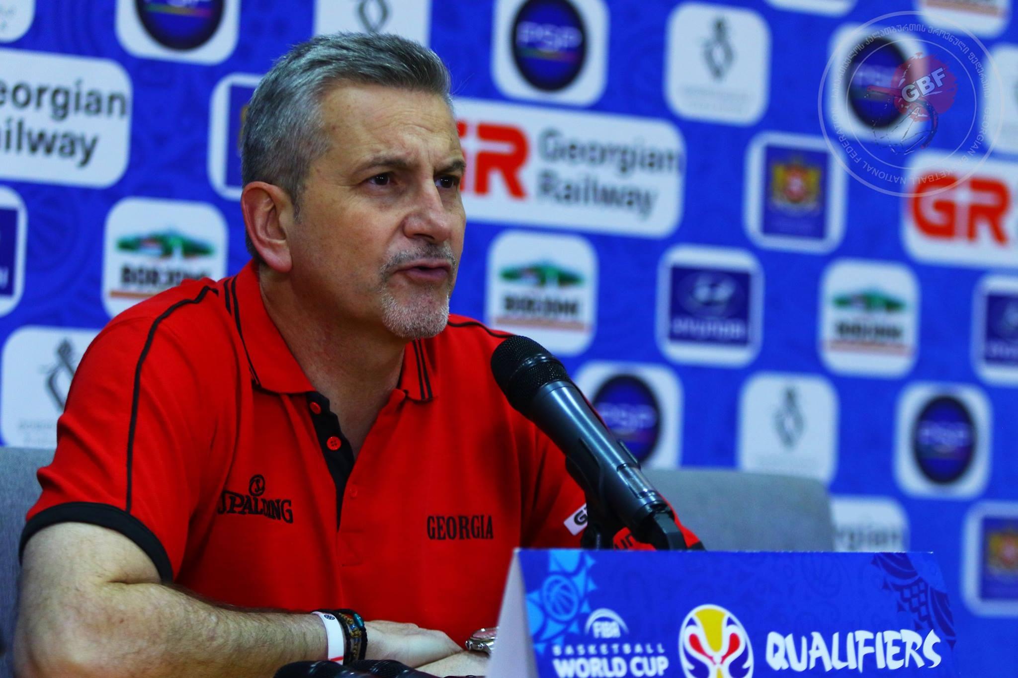 Ilias Zouros: Georgia should have a fairly competitive team on Eurobasket