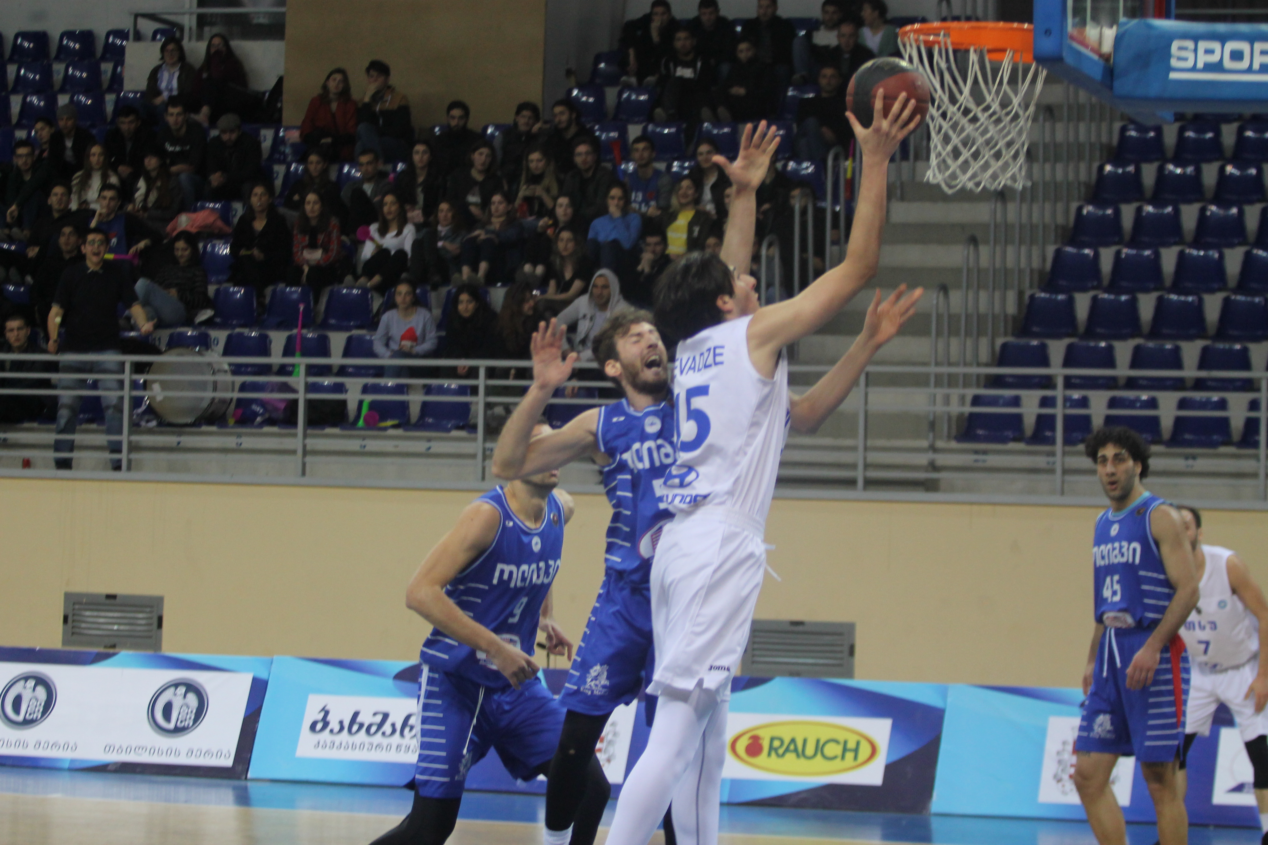 Olimpi defeated TSU-Hyundai in two overtimes