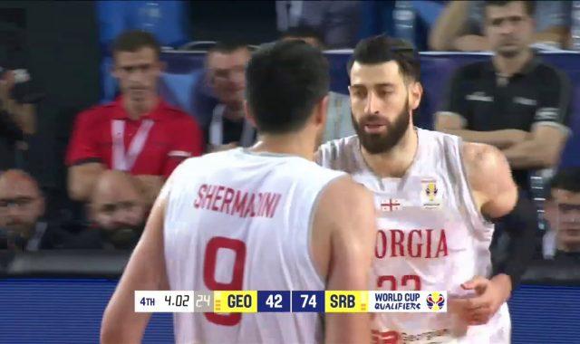 Georgia Highlights vs Serbia