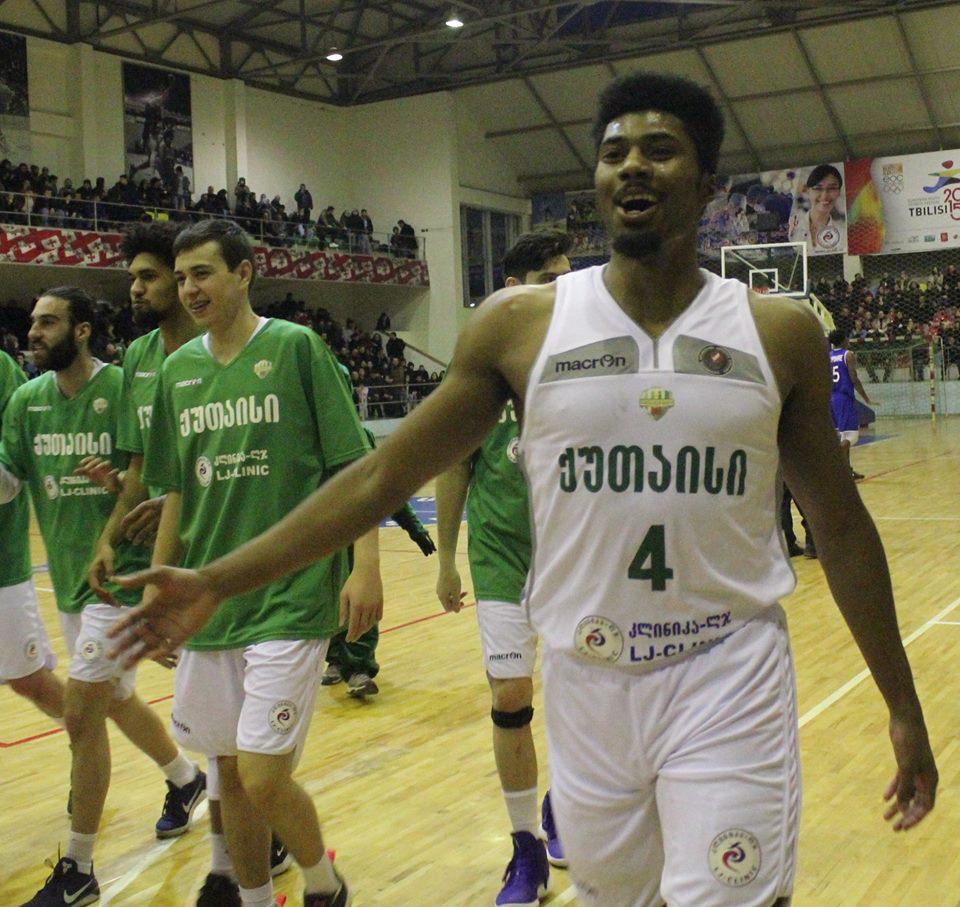 Kutaisi's victory over Dinamo