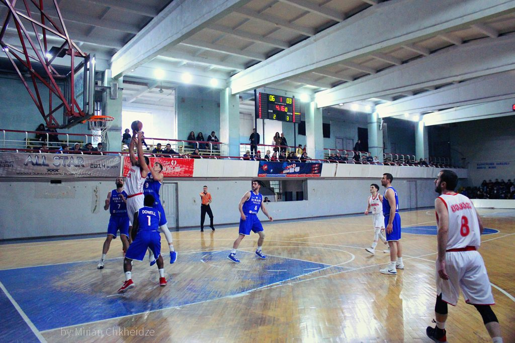Rustavi defeated Olimpi in the final tour match