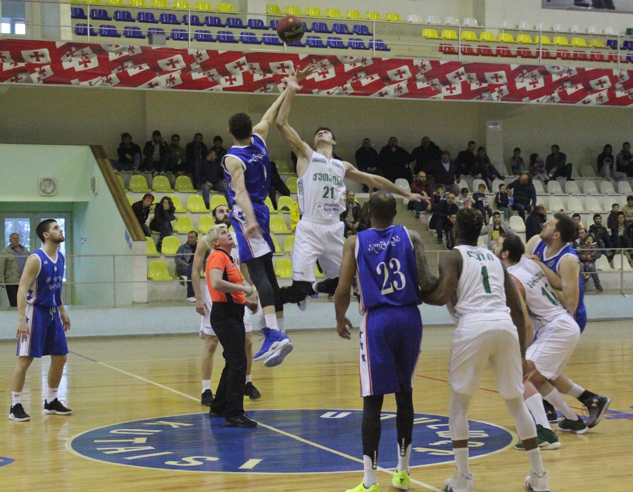 Kutaisi defeated Titebi 99:95 and advanced in semifinal series of Georgian Cup