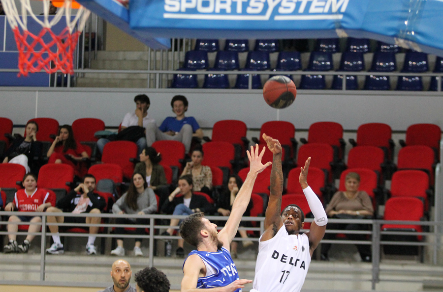 Delta started quarterfinal series with a victory against Olimpi