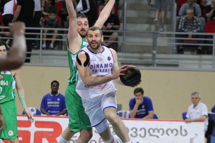 Dinamo won and Kutaisi will host the decisive match