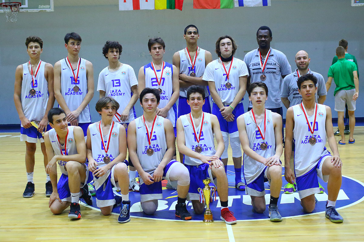 Zaza Academy became the bronze medal winner of the Black Sea Cup