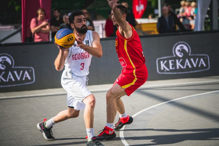 Georgia's 3×3 basketball team finished European Qualifiers with the defeat against Latvia