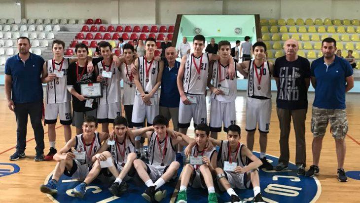 """""""ქუთაისი"""" საქართველოს 14-წლამდელთა ჩემპიონატის ბრინჯაოს პრიზიორია"""