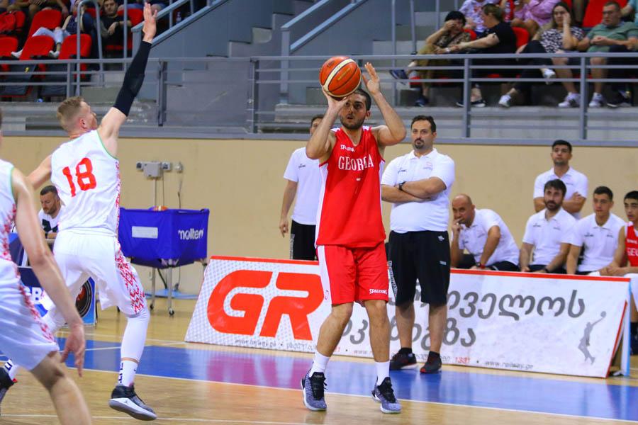 საქართველოს 20-წლამდელთა ნაკრებმა ბელარუსს 88:59 მოუგო