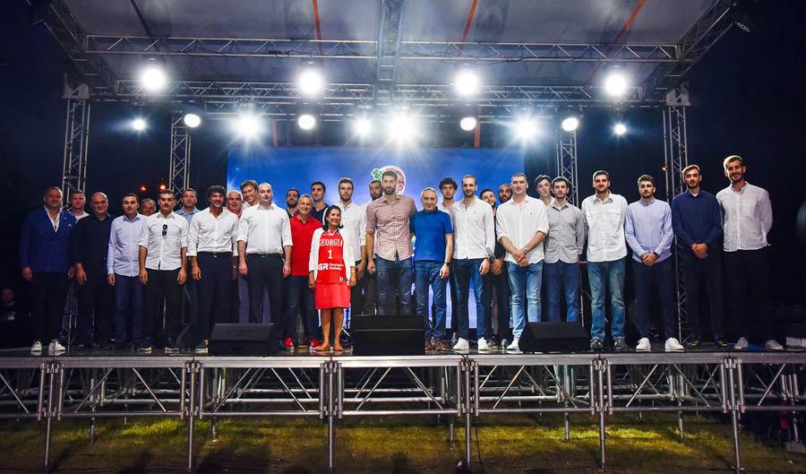 EuroBasket 2021-ის მასპინძლობასთან დაკავშირებით ლისის ტბაზე საზეიმო ღონისძიება გაიმართა