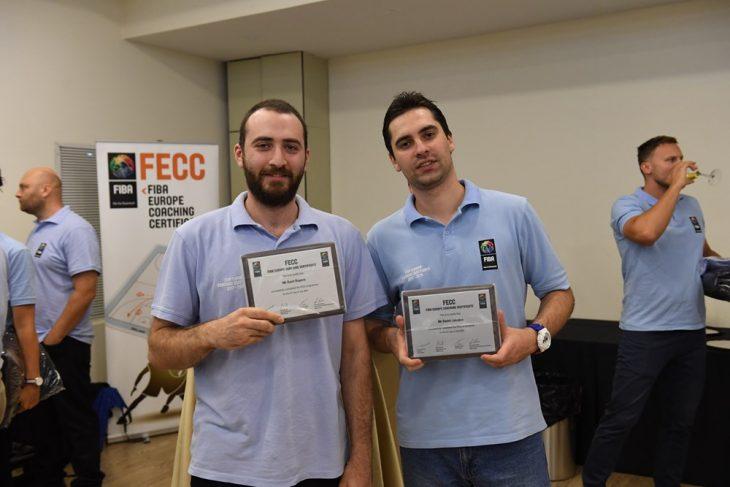დიმიტრი ჯაკობოვმა და დავით როგავამ ფიბა-ს FECC-ის სამწვრთნელო პროგრამის სერთიფიკატები მიიღეს