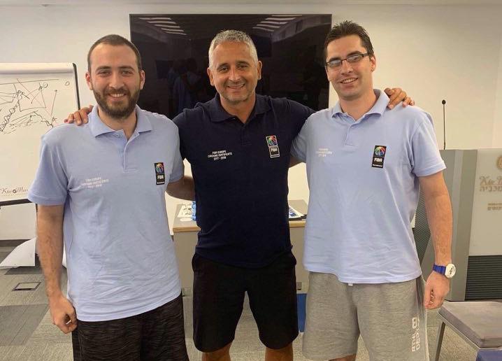 ჯაკობოვი და როგავა ფიბა-ს სამწვრთნელო პროგრამის (FECC) სერთიფიკატის მისაღებად ისრაელში იმყოფებიან