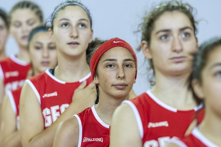 U-16 girls' team is in semifinals of European Championship (C division)