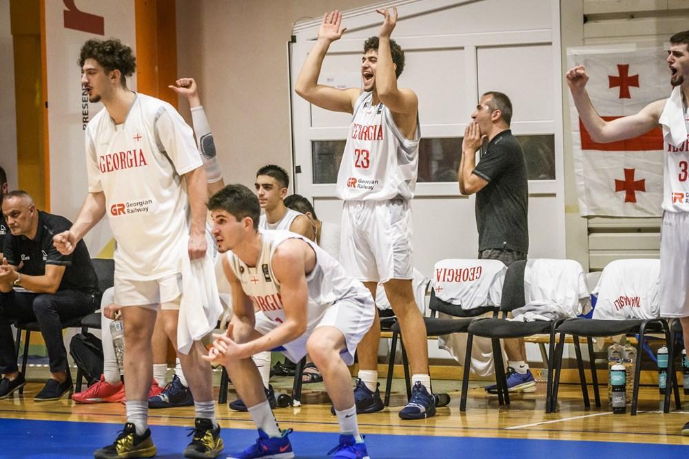 Georgian U18 team is a leader of the group
