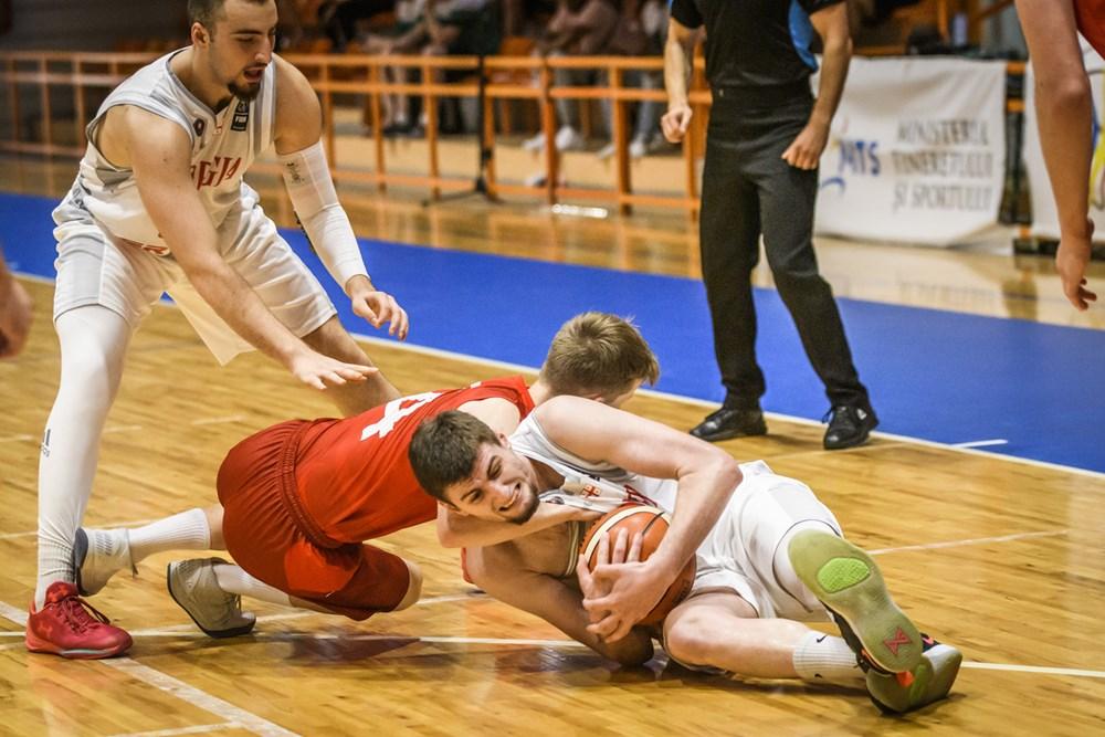 Georgian U18 team lost with North Macedonia