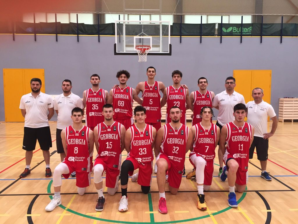 Georgian U18 team started European Championship with a victory against Slovakia