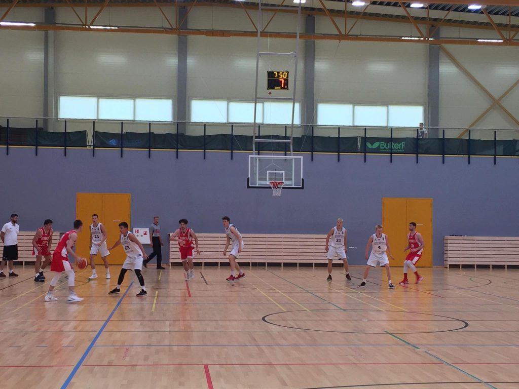 Georgian U18 team lost with Estonia at the last seconds