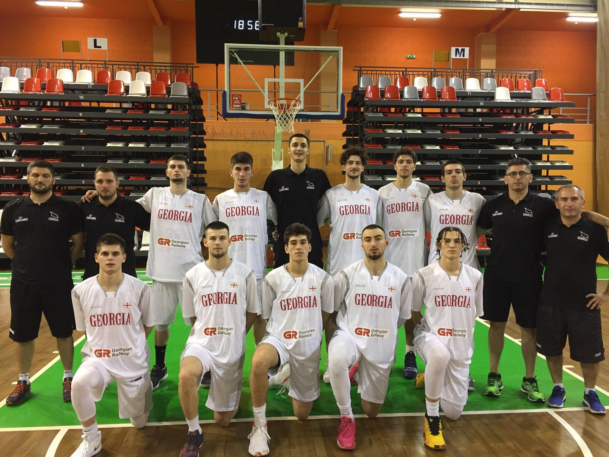 Georgian U18 team lost with Latvia 71:72