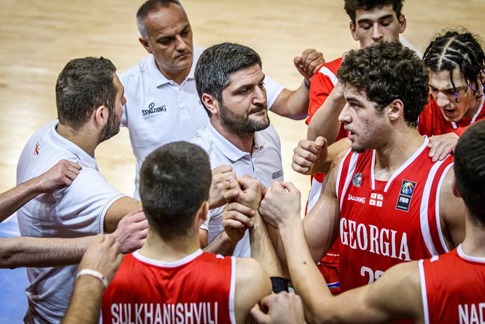 საქართველოს U18 ნაკრებმა ევროპის ჩემპიონატის B დივიზიონი მე-8 ადგილზე დაასრულა