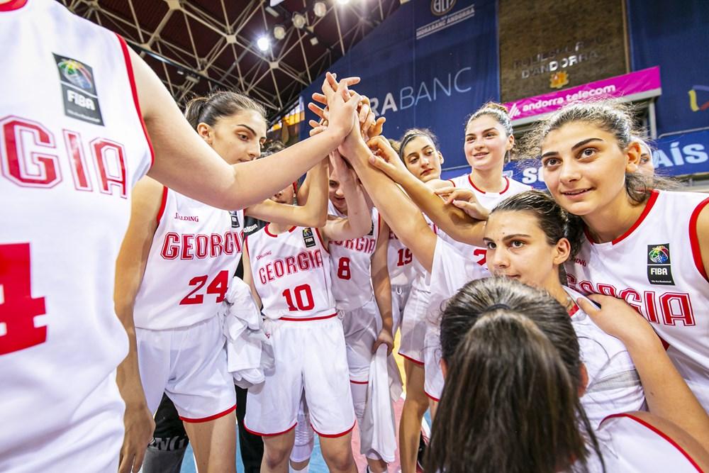 საქართველოს 18 წლამდე გოგონათა ნაკრებმა ევროპის C დივიზიონიში ბრინჯაო მოიგო