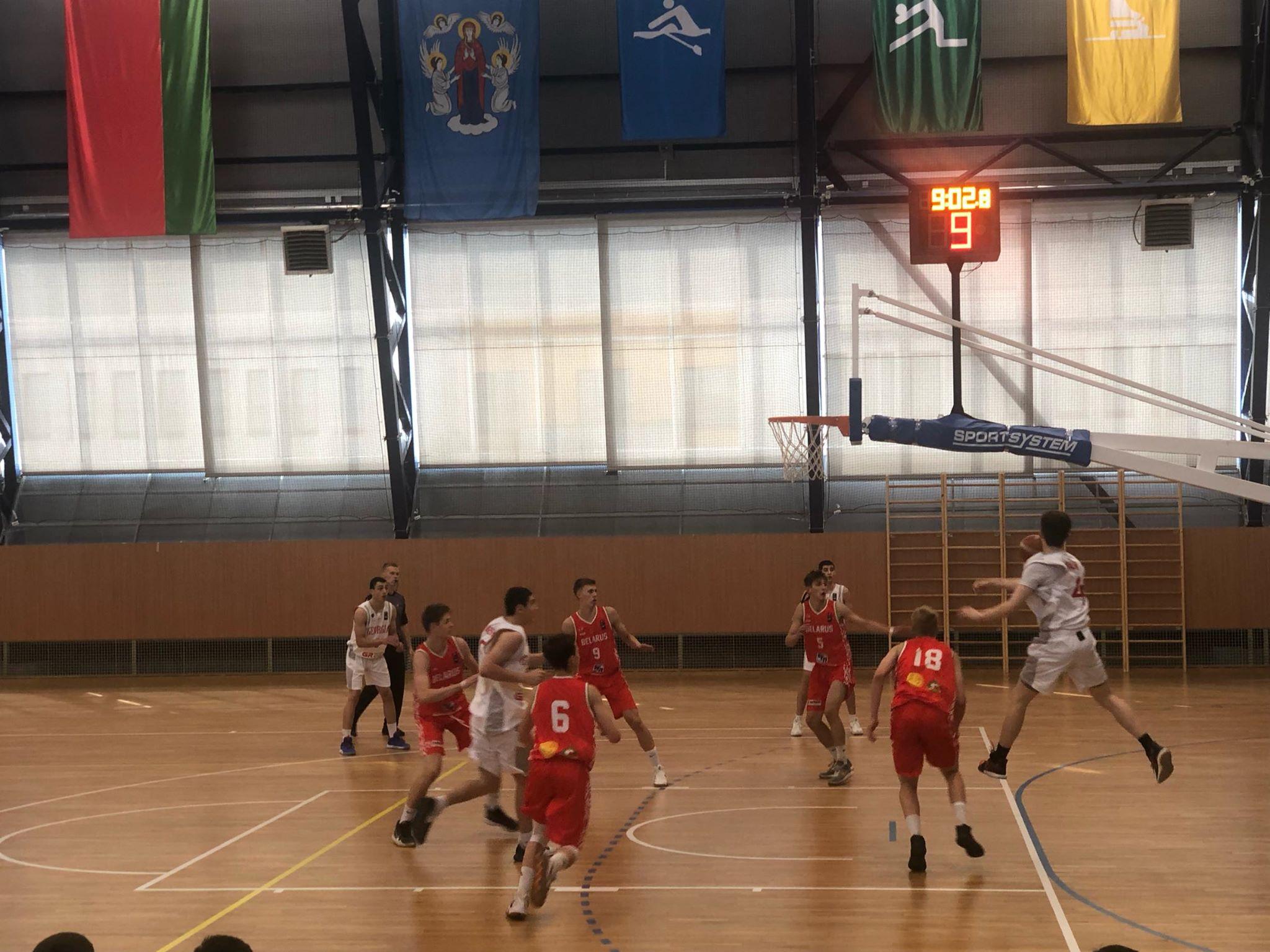 საქართველოს U16 ნაკრებმა მინსკში ბელარუსი 57:51 დაამარცხა