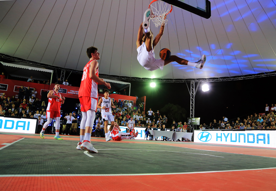 Second day of the FIBA 3X3 U18 Europe Cup