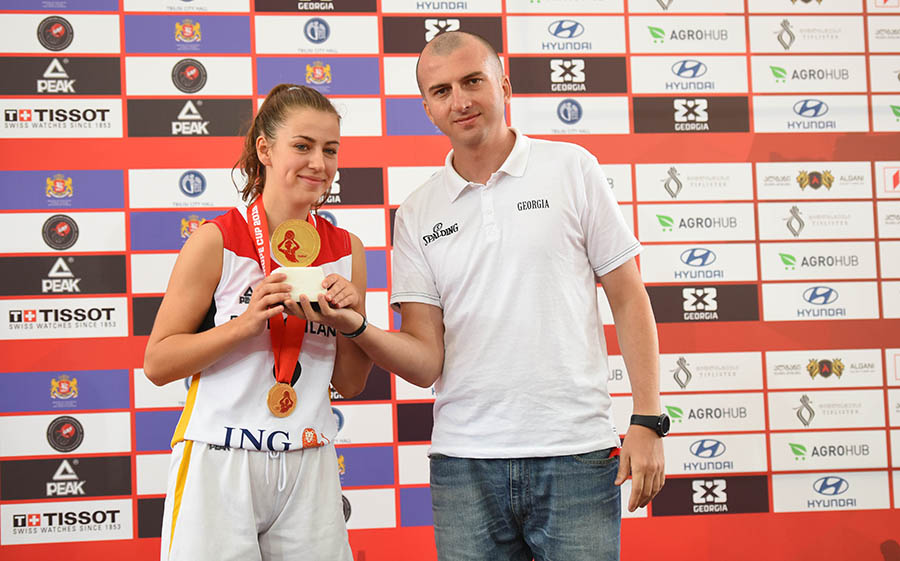 Shoot out contest winner was revealed on 3X3 Europe Cup