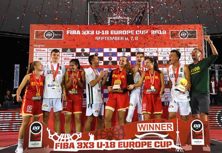 3X3 U18 ევროპის თასის საზეიმო დაჯილდოება